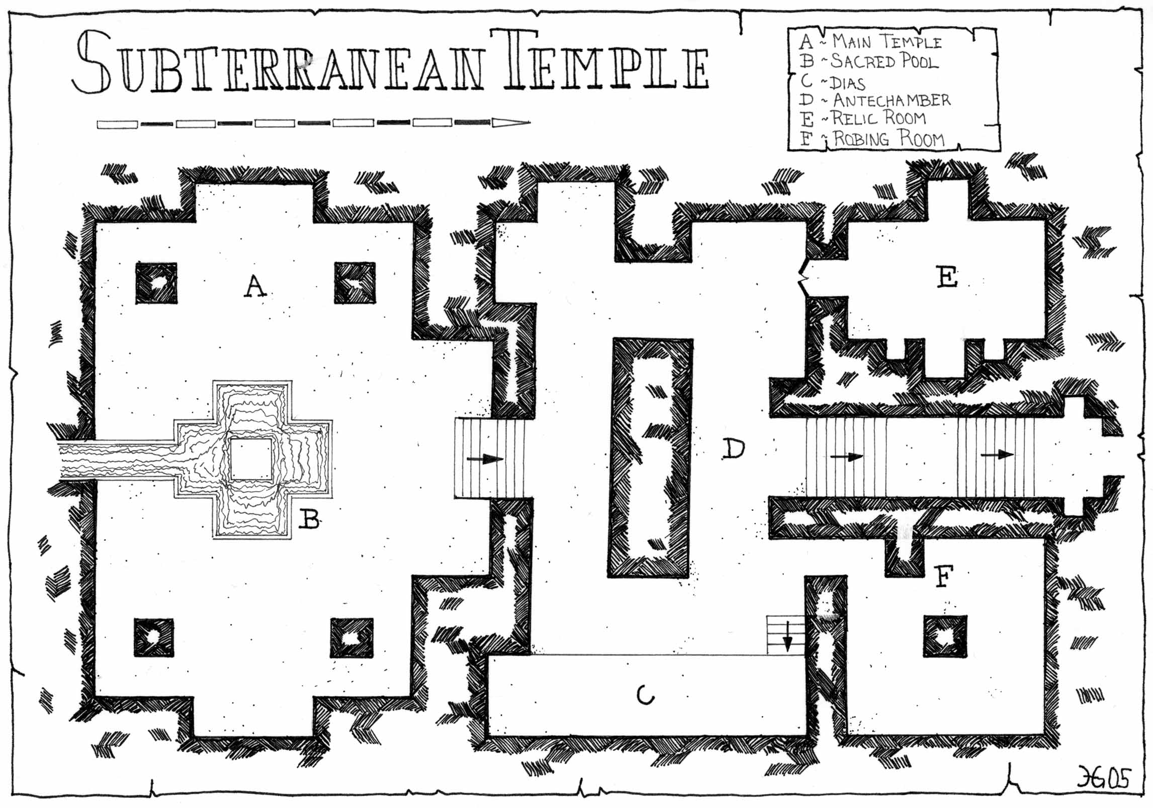 maps and floorplans