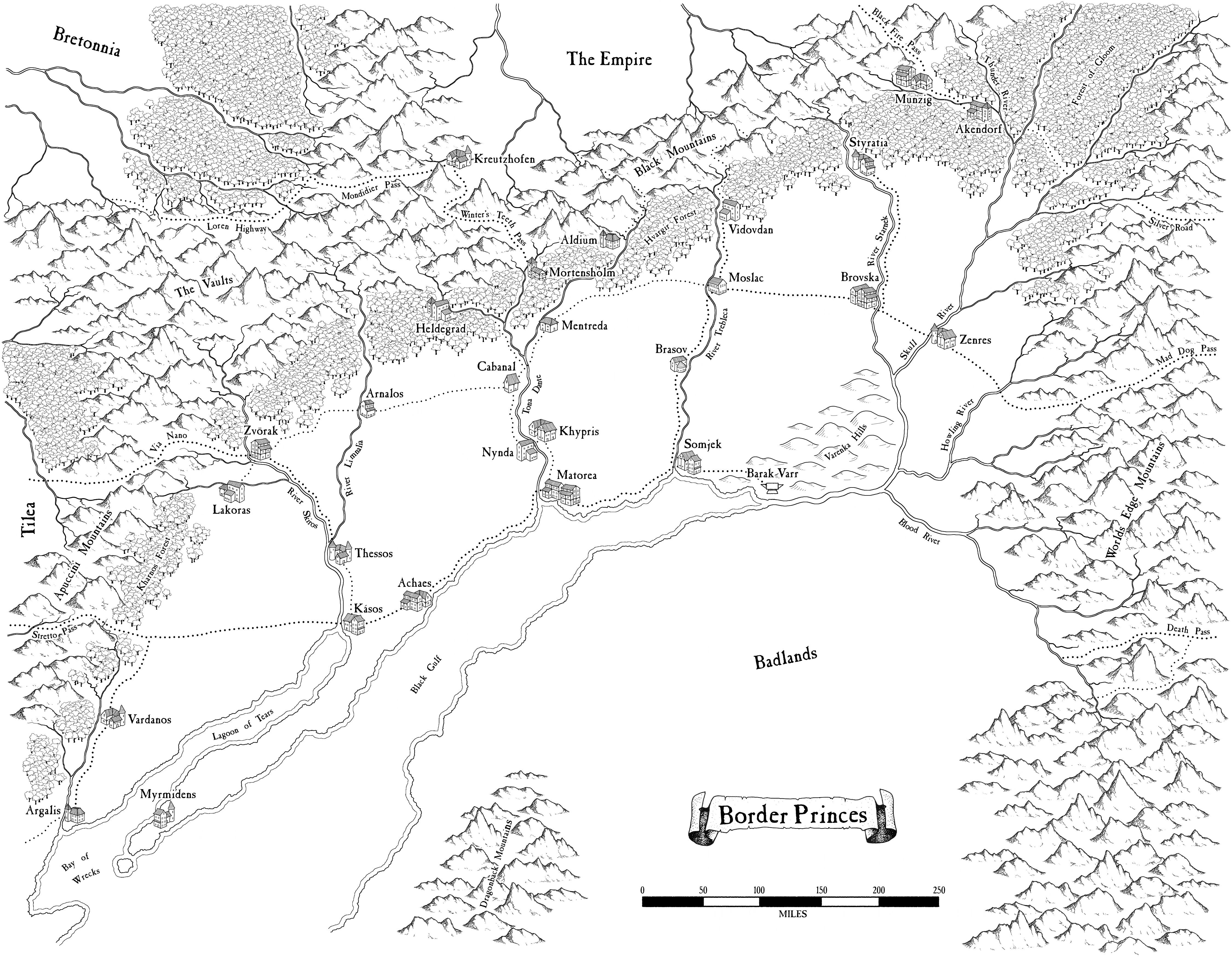 Blicher-Nunez Geographical Maps